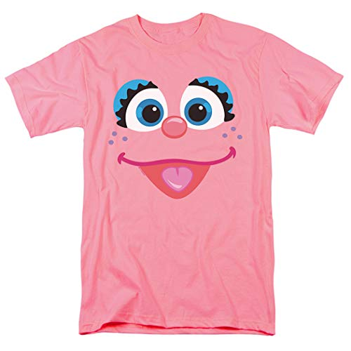 Sesame Street Abby Cadabby Face T Shirt & Stickers (Medium)