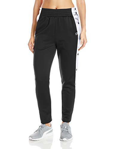 PUMA Women's T7 Pop up Pants, Black, X-Large