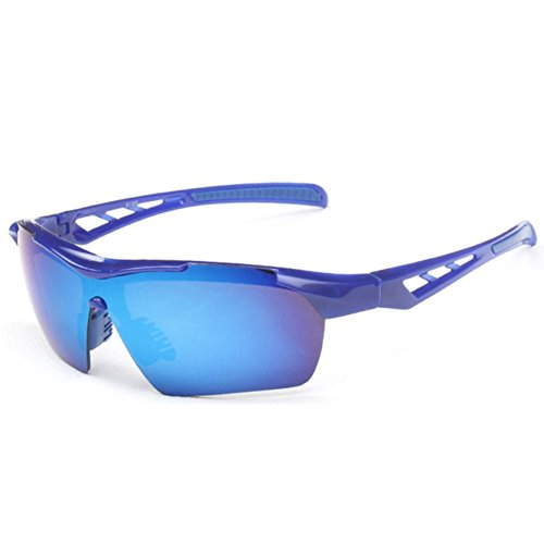 Sinkfish SG80023 Cycling Sunglasses for Women,Anti-UV & Fashion Reflector - UV400/Blue - Outlet Cheap Gucci Store