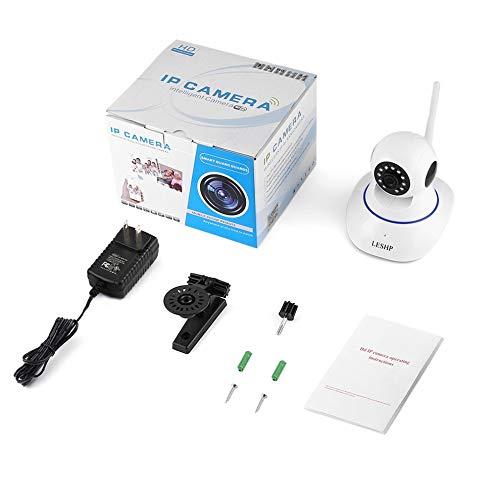 E.I.H. LESHP Indoor HD 1080P Wireless Network IP Alarm Camera LESHP Indoor HD 1080P Wireless Network IP Alarm Camera 2MP 1920 1080 Plug & Play Night Vision 4pcs Infrared LED US Plug by E.I.H. (Image #9)