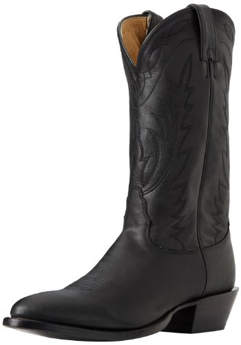 Nocona Boots Men's Deertan Boot - Black Deertan - 8 2E US