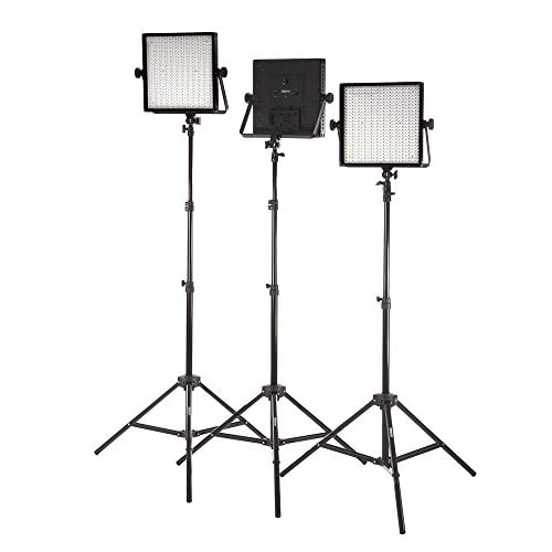 durable modeling studiopro set of 3 s 600b dimmable 600 led