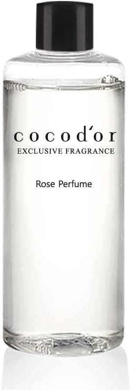 Cocodor Reed Diffuser Oil Refill/Rose Perfume/6.7oz(200ml)/1 Pack/Aroma Therapy, Home Fragrance