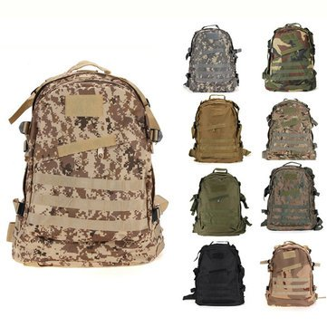 Price comparison product image 40L Outdoor Military Tactical Backpack Shoulder Bag Rucksack For Camping Hiking Trekking 6 Colors