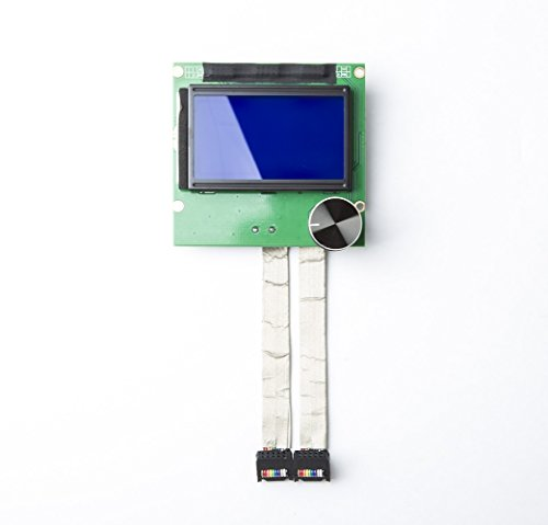 (CHPOWER CR10S Screen, 2004 LCD Display Screen for Creality CR-10/ CR-10S/ CR-10S4/ CR-10S5 3D Printers with 2 Ribbon Cables)