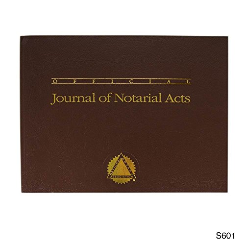 Official Journal of Notarial Acts (Softcover brown) by Blumbergs Law Products