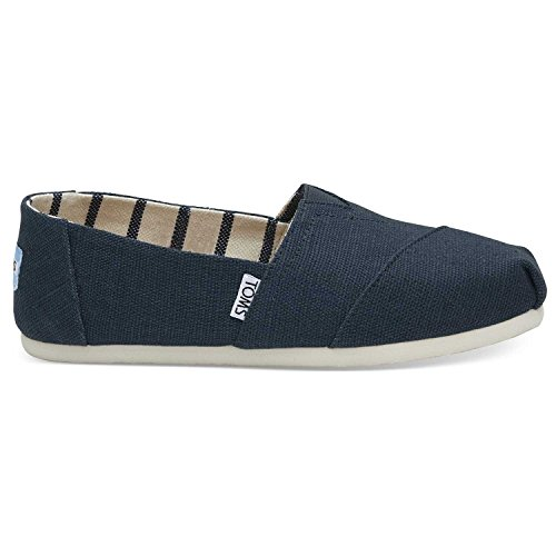 TOMS Women's Venice Majolica Blue Heritage Canvas 10011671 (Size: 7.5)