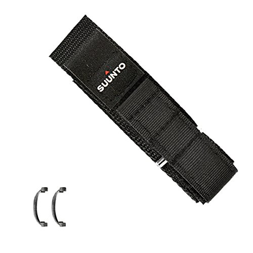 Suunto Replacement (Suunto Wrist-Top Computer Watch Replacement Strap Kit (Vector, Altimax, Mariner, Regatta, D3; Black Fabric))