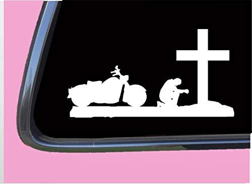 Tp Cycle - Praying Biker TP 668 Sticker 8
