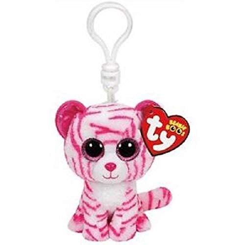 Beanie Boo - Ty Beanie Boos 4 Quot 9cm Asia The Tiger Clip Keychain Plush Soft Big Eyed Stuffed Animal Collection - Rabbit Bracelet Lion Under Horse Glamour Tiger Figures Yellow Pega