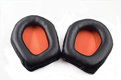 YDYBZB Almohadillas de espuma de repuesto para almohadillas de auriculares, almohadillas de reparación para auriculares
