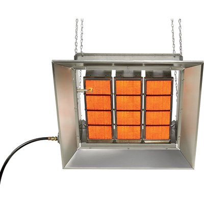 SunStar Heating Products Infrared Ceramic Heater - NG, 100,000 BTU, Model Number SG10-N by Sunstar