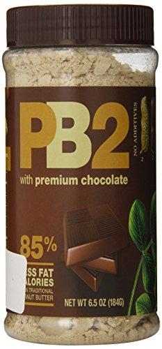 PB2 - Chocolate Peanut Butter, 85% less fat calories, 6.5oz/184g 4-pack