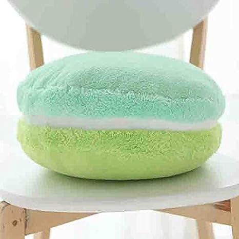 Amazon.com: Macaron almohada color caramelo postres forma de ...