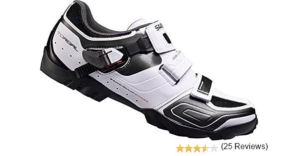 Shimano Sh-m089, Zapatos de Bicicleta de Montaña Hombre, Blanco, 41 EU: Amazon.es: Zapatos y complementos