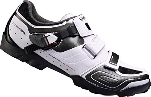 Shimano SH-M089W - Zapatillas MTB, color blanco, talla 40: Amazon.es: Zapatos y complementos
