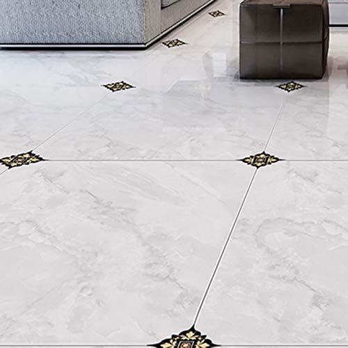 タイルステッカー自己接着斜めステッカータイル床の壁のステッカータイルステッカー浴室のタイル3Dデカール家の装飾-A