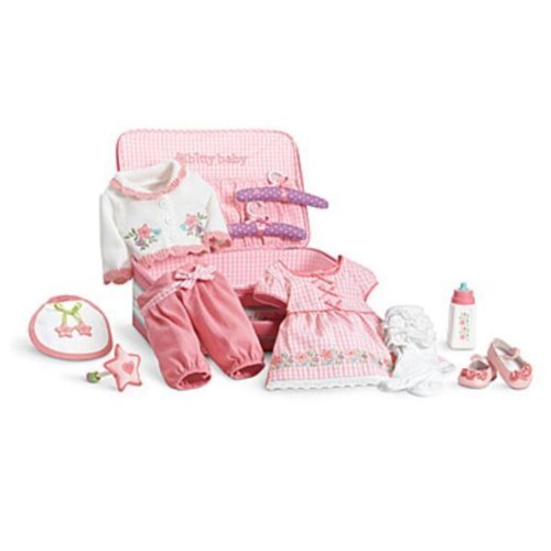 American Girl Doll Bitty Baby Deluxe Layette Set Layette Apparel