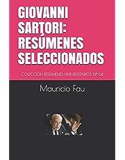 GIOVANNI SARTORI: RESÚMENES SELECCIONADOS: COLECCIÓN RESÚMENES UNIVERSITARIOS Nº 64