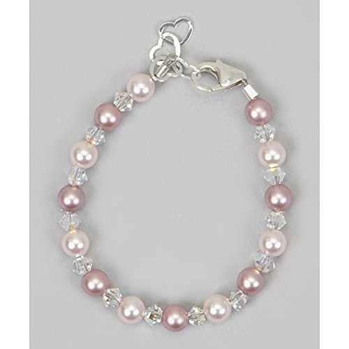 crystal-dream-elegant-baby-girl-gift-bracelet-with-swarovski-pink-and-rose-simulated-pearls-and-crys