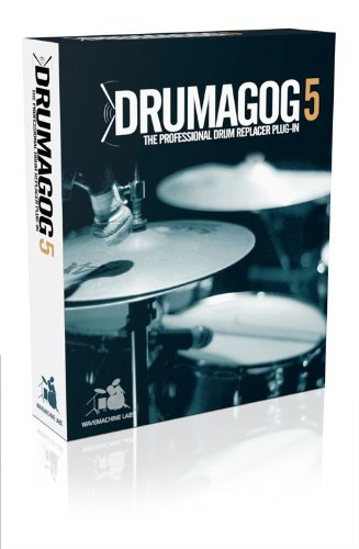 Wave Machine Labs Drumagog 5 Pro Drum Replacement Plug-in with Advanced Triggering by Wave Machine Labs