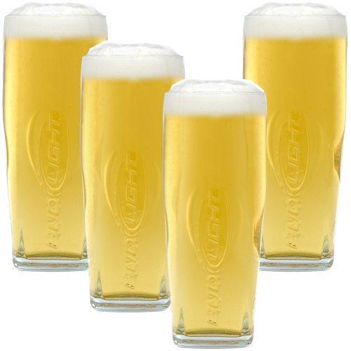 Bud Light Signature Pint Glass - Set of ()