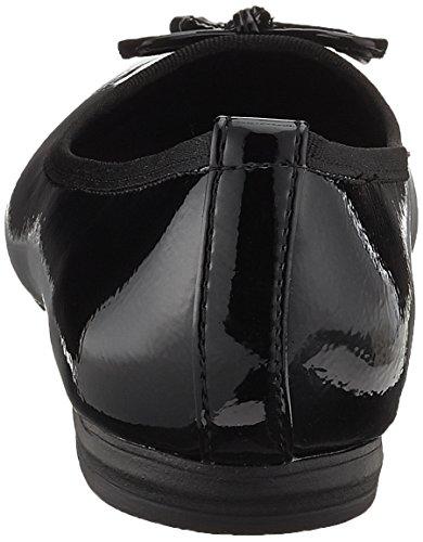 Marco Tozzi 22137, Bailarinas con Punta Cerrada para Mujer Negro (Black Patent)