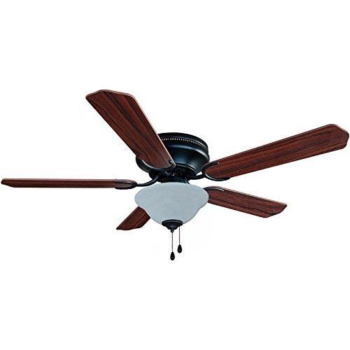 Hardware House 207089 Ceiling Fan, Oil Rubbed Bronze finish