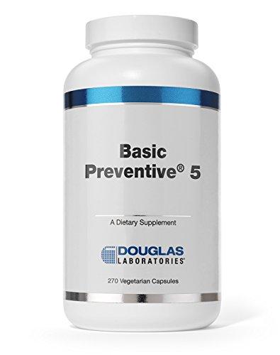 Douglas Laboratories - Basic Preventive 5 - Iron-Free Supplement with Antioxidants - 270 Capsules