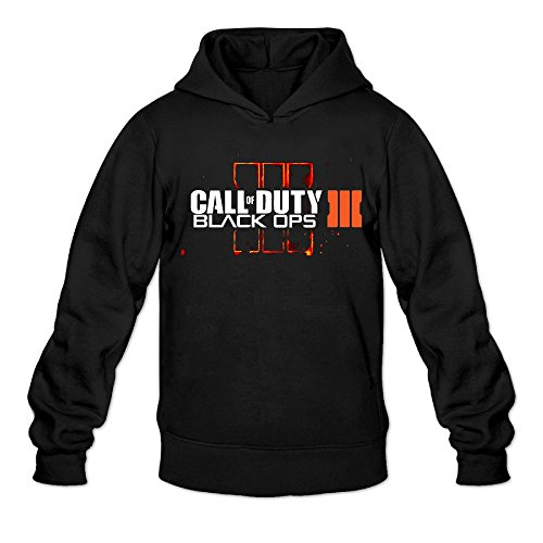 Makers Mark Costume (DVPHQ Men's Design Call Of Duty Black Ops Iii Hoodie Size XL Black)
