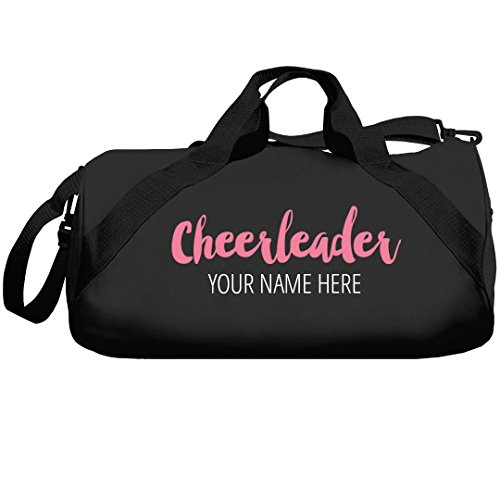 Custom Name Cheerleader Bags: Liberty Barrel Duffel -