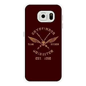 Samsung Galaxy S6 Case, Customized Harry Potter White Hard Shell Samsung Galaxy S6 Case, Harry Potter Galaxy S6 Case(Not Fit for Galaxy S6 Edge)