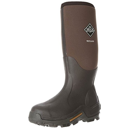 Muck Boot Men's Wetland Waterproof/Work/Insulated/Gardening/Camping 10 M Brown