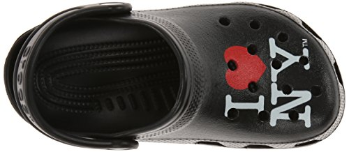 Crocs Kids 15394 I Love NY Classic Clog (Toddler/Little Kid),Black,6 M US Toddler by Crocs (Image #8)'
