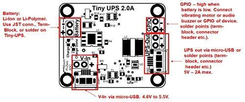 Amazon com: Tiny-UPS - Tiny, Fully Functional UPS: Home