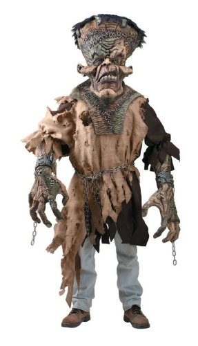 Freak-N-Monster Creature Reacher Deluxe Oversized Mask and Costume