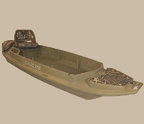 Beavertail 2000 Series Stealth Twin Gun Sneak Boat, Marsh Brown