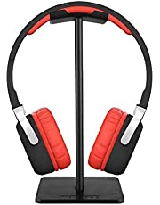 Universal Aluminum Headphone Holder Headset Showing Display Stand Hanger for All Headphones,black