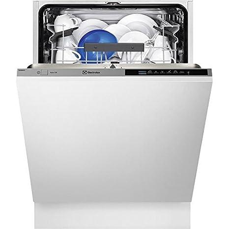 Electrolux ESL5350LO Totalmente integrado 13cubiertos A+++ lavavajilla - Lavavajillas (Totalmente integrado, Full size (60 cm), Negro, Gris, Botones, ...