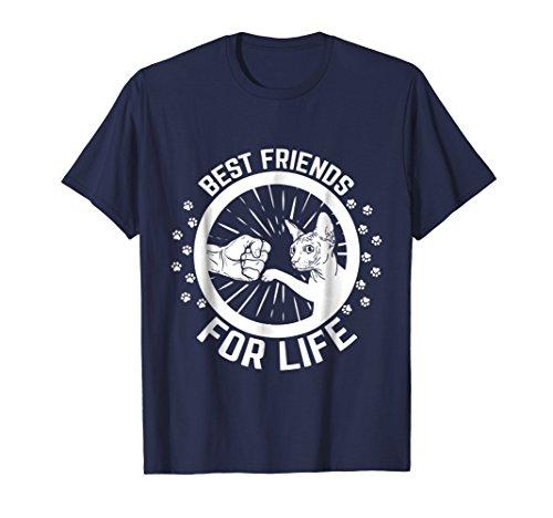 (Sphynx Cat - Best Friends For Life T-shirt)