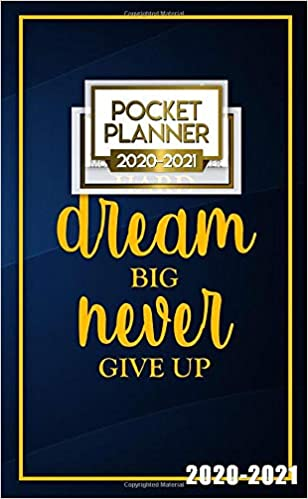2020-2021 Pocket Planner: Nifty Inspirational Two-Year ...