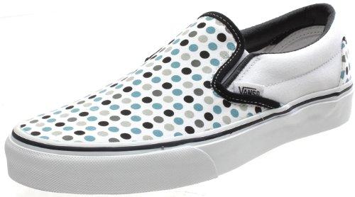 298060f9a864 Vans Classic Slip On (Polka Dots) Black Pewter Shoe EYEAVY (UK6)   Amazon.co.uk  Shoes   Bags