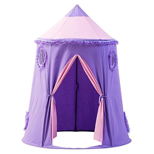 Children's Tent Children's Tent Indoor Play House Yurt Tent Princess Game Castle Ocean Ball Pool Outdoor Toys Durable (Color : B)