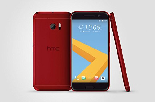 HTC 10 M10h 32GB ROM 4GB RAM 5.2-Inch 12MP 4G LTE Factory Unlocked International Stock No Warranty (GLACIER SILVER)