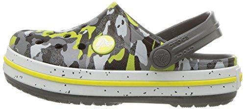 Crocs Unisex-Kids Crocband Camo Speck K Clog, Graphite/Camo, 12 M US Little Kid by Crocs (Image #5)