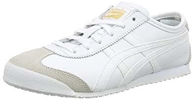 ASICS Australia Mexico 66 Sneaker, White/White, 4.5 US