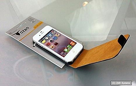 Kim Luca - Carcasa semirrígida para Apple iPhone 4, color negro