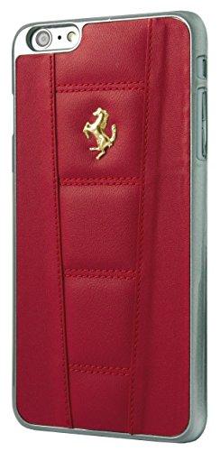 Ferrari 458 Leather Hard Case for iPhone 6 Plus/6S Plus - Red/Gold - Ferrari Gold