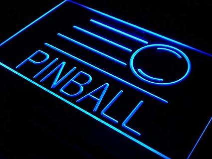 303705398443 Amazon.com  ADVPRO s078-b Pinball Game Room Bar Beer Neon Light Sign ...