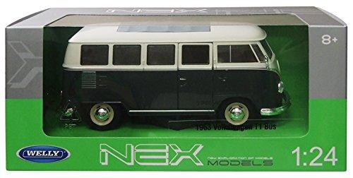 1/24 VW T1 バス 1963(クリーム×ディープグリーン) WE22095DG
